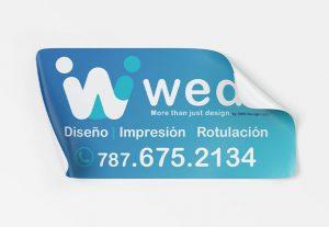 15959Diseño personalizado para stickers o labels